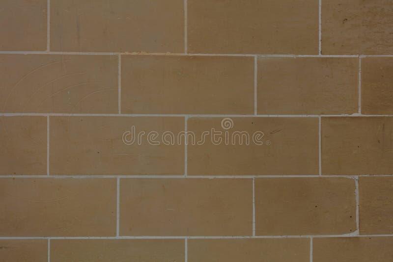 Предпосылка фасада каменной стены Брайна в Мальте стоковое фото