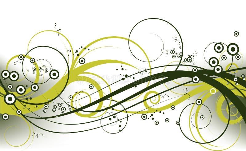 предпосылка флористическая иллюстрация вектора