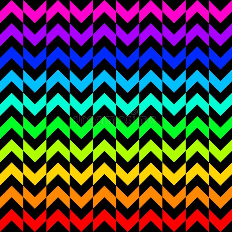 Предпосылка формы конспекта гипнотическая геометрическая иллюстрация штока