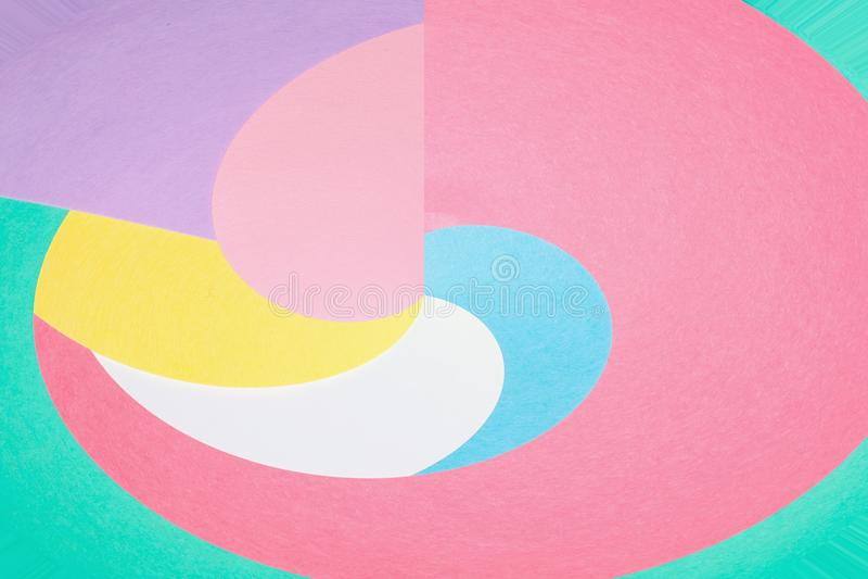 Предпосылка форм конспекта геометрическая изгибая стоковые фотографии rf