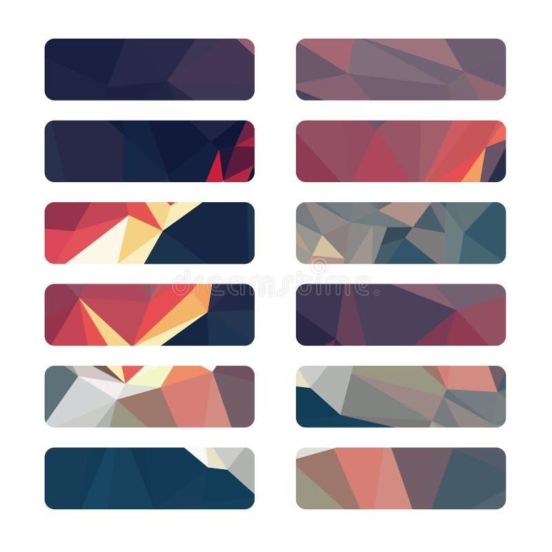 Предпосылка цвета геометрическая бесплатная иллюстрация