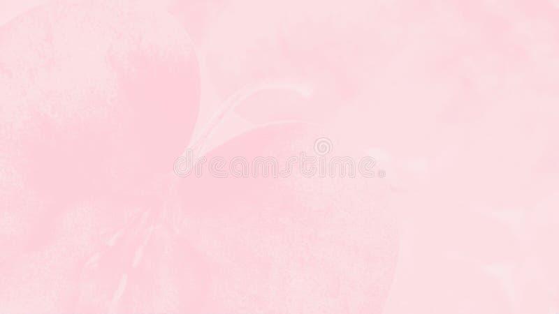 Предпосылка цвета светлого коралла розовая с чувствительной картиной яблока формат 16:9 панорамный Мягкая предпосылка стоковые фото