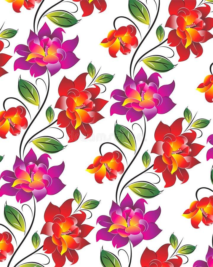 Предпосылка цветка вектора иллюстрация штока