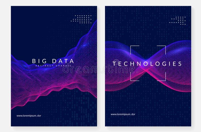 Предпосылка цифровой технологии абстрактная Искусственный интеллект, иллюстрация штока