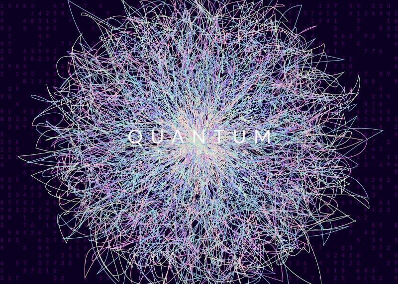 Предпосылка цифровой технологии абстрактная Искусственный интеллект, бесплатная иллюстрация