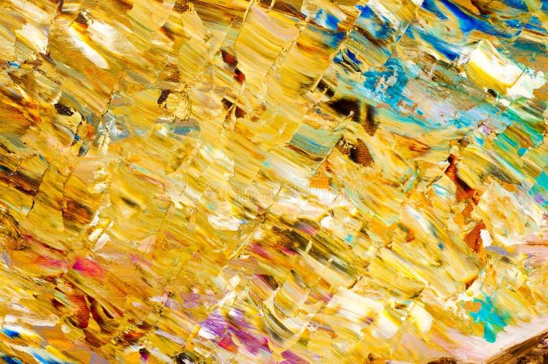предпосылка, чертеж, картина, покрашенная с красками масла Аннотация стоковое фото rf