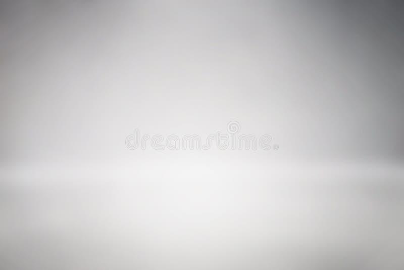 Предпосылка чистого градиента конспекта фона студии космоса серая пустой градиент студии комнаты использовал нас монтаж или диспл стоковое фото rf