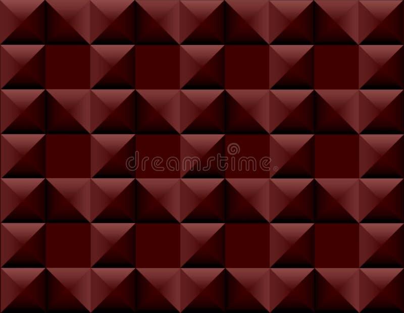 Предпосылка шоколада пластичная для сети иллюстрация вектора
