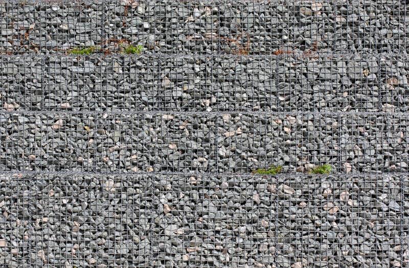 Предпосылка щебня земли серого цвета каменная много небольших камней стоковые изображения rf