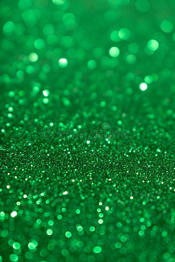 Предпосылка яркого блеска зеленого цвета дня валентинки Нового Года рождества Ткань текстуры праздника абстрактная Элемент, вспыш стоковое изображение rf
