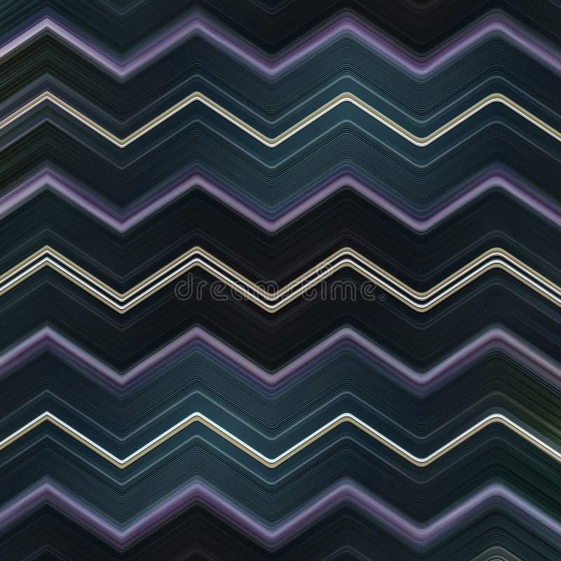 Предпосылка Abtract Шеврона линейная современная иллюстрация вектора