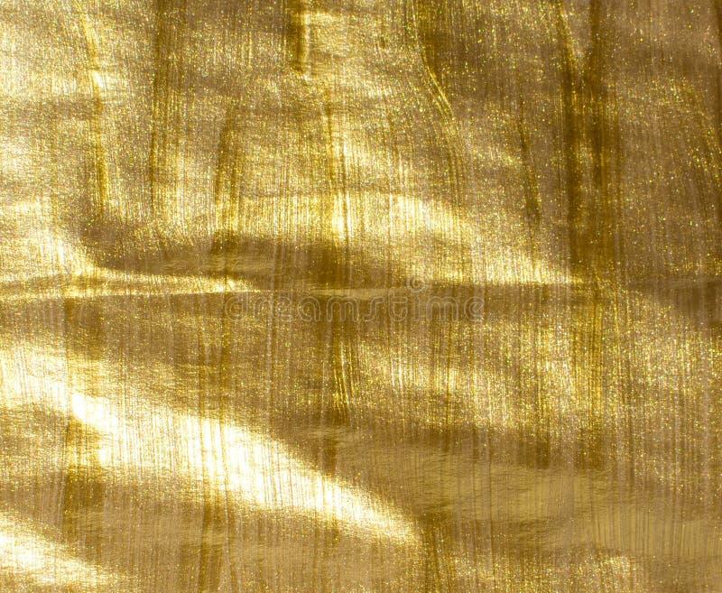 Предпосылка acrylic золота стоковое изображение rf