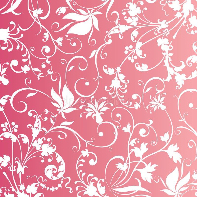 предпосылка blossomy иллюстрация вектора