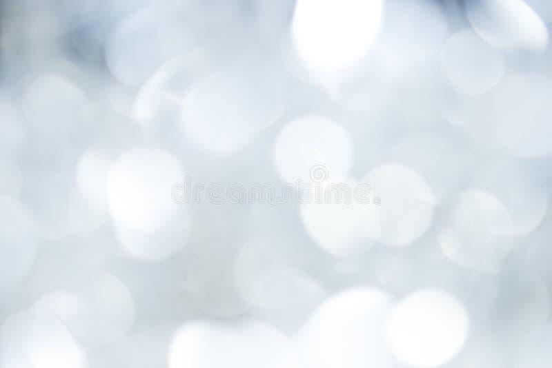 Предпосылка Bokeh серая красивых светов Рождество концепции стоковое фото