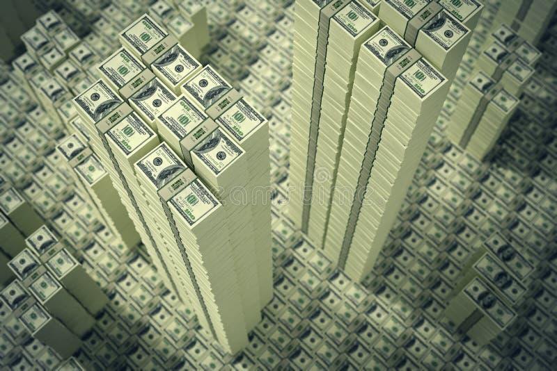 предпосылка 3d представляет счет доллар высокий представляет res иллюстрация штока