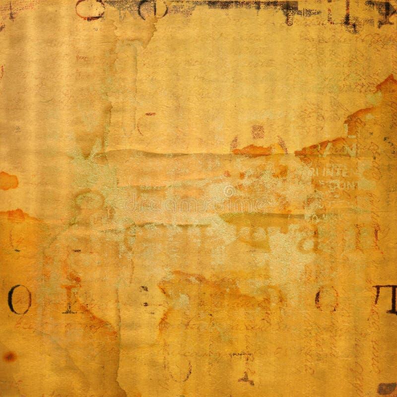 Предпосылка Grunge абстрактная с текстом handwrite иллюстрация вектора