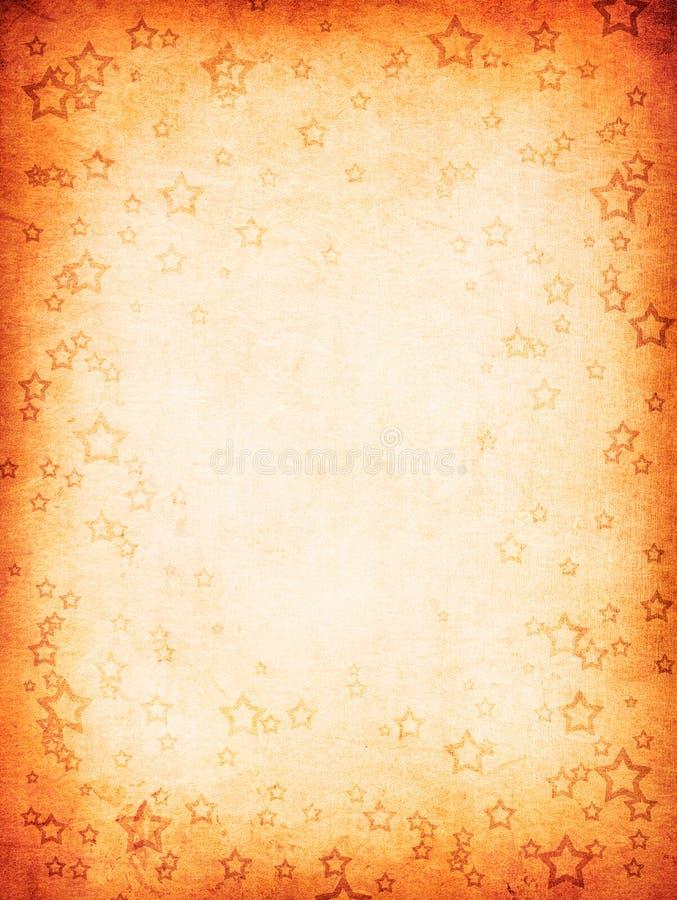 Предпосылка Grunge с звездами бесплатная иллюстрация