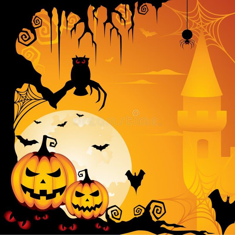 предпосылка halloween иллюстрация штока