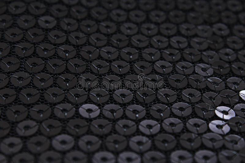 Предпосылка pailette sequin Sequins Картина текстуры ткани платья зеркала материальная Портняжничать шить концепцию глянцевато стоковая фотография rf