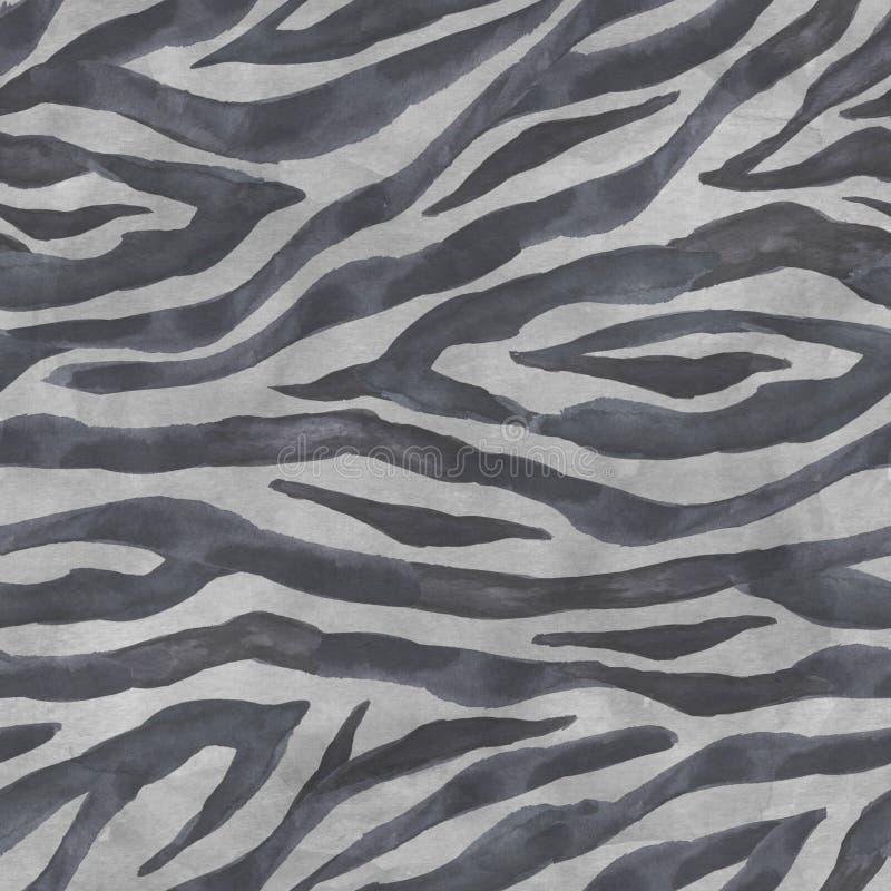 Предпосылка striped зеброй безшовная стоковая фотография