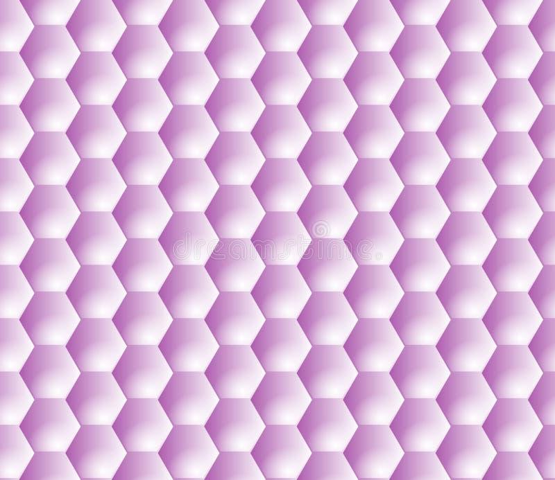 Предпосылка SVG вектора вида решетки шестиугольника безшовная иллюстрация штока