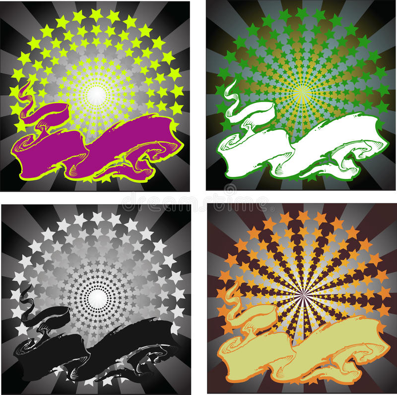 предпосылки красят четырёхзвёздочный бесплатная иллюстрация
