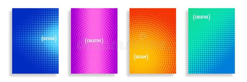 Предпосылки полутонового изображения конспекта вектора иллюстрация вектора