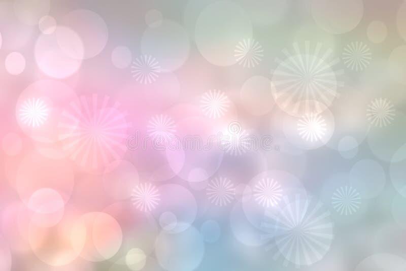 предпосылки праздничные Праздничный пастельный конспект предпосылка текстуры С Новым Годом! или рождества и с запачканными цветом стоковое фото rf