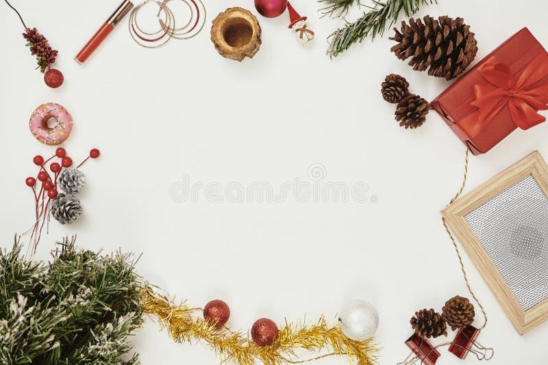 Предпосылки рождества стоковые изображения rf