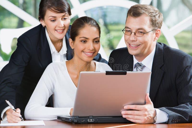 предприниматели многодельные стоковое изображение