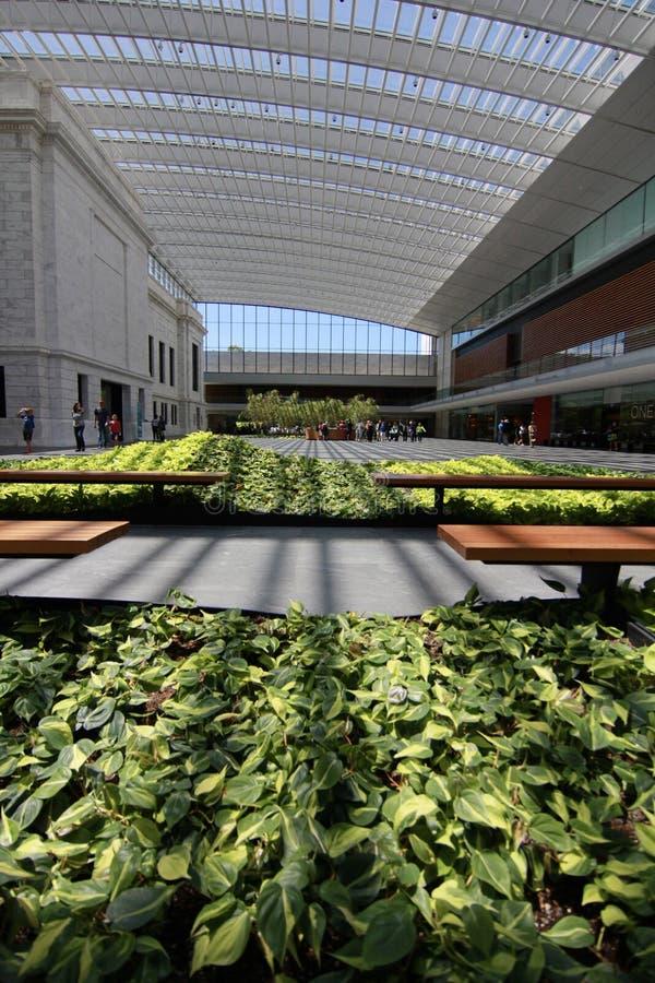 Предсердие Ames в музее изобразительных искусств Кливленда стоковое изображение rf