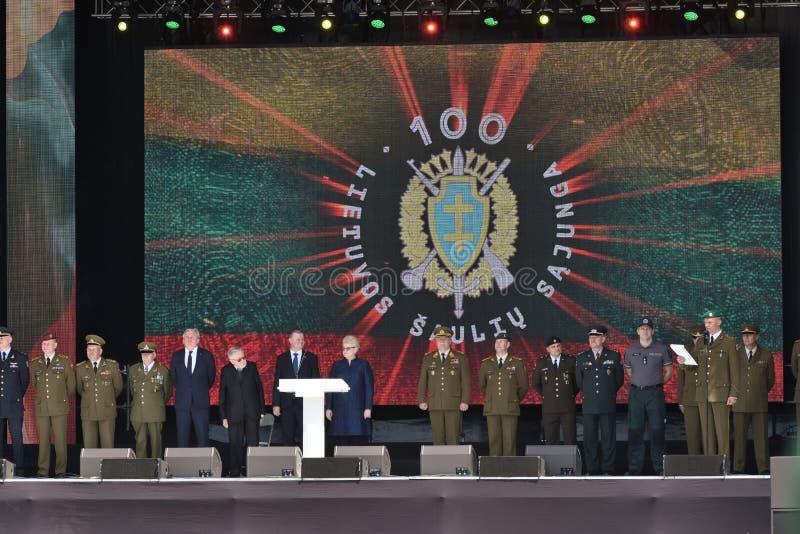 Представители властей, Вильнюс стоковая фотография