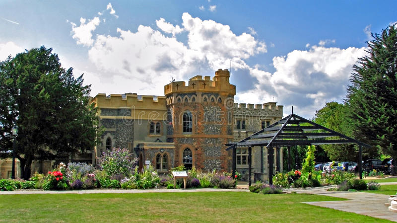 представительное замока домашнее стоковое фото rf