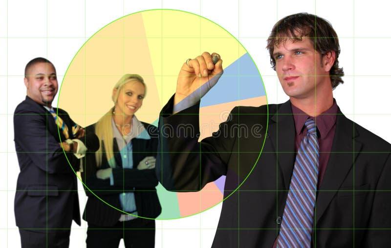 представление бизнесмена стоковые фотографии rf