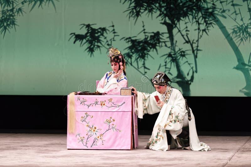 Представление оперы Пекин стоковая фотография rf