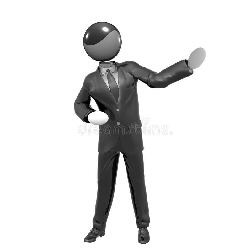 представление представления иконы бизнесмена 3d бесплатная иллюстрация