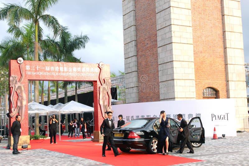 представление Hong Kong пленки церемонии 2012 пожалований стоковая фотография