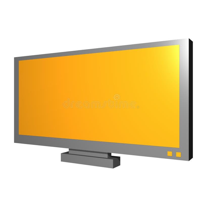 представление tv предмета lcd диаграммы бесплатная иллюстрация