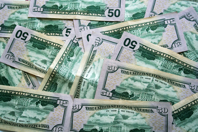 представляет счет доллар 50 стоковые изображения rf