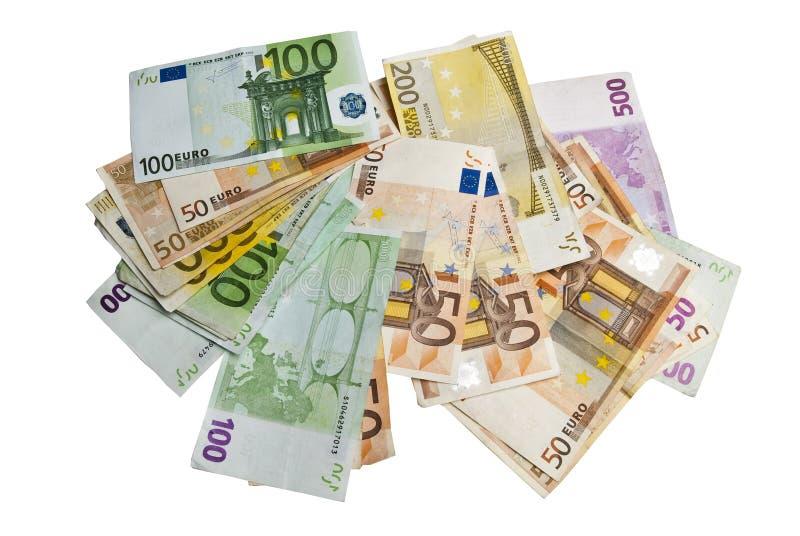 представляет счет евро стоковые изображения rf