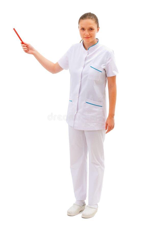 представлять женщины доктора стоковые изображения rf