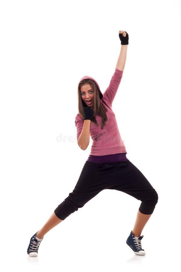 представлять танцора стоковое фото