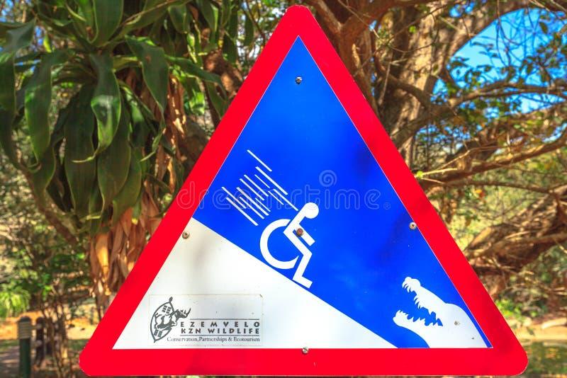 Предупредительный знак живой природы стоковое фото rf