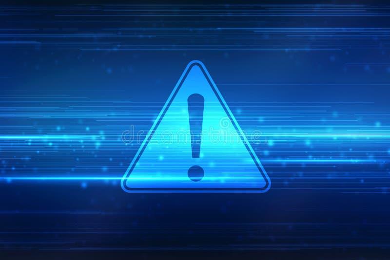 предупреждающий знак внимания дизайн знака опасности Значок ошибки предосторежения иллюстрация штока