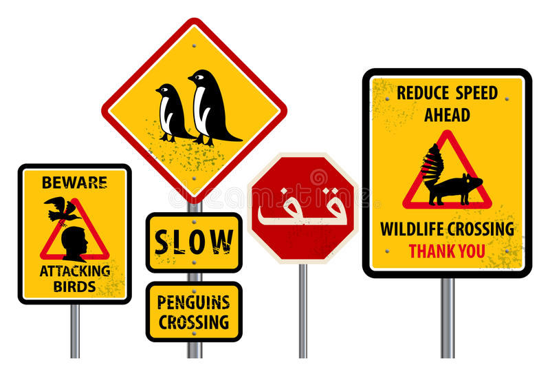 предупреждение знаков бесплатная иллюстрация
