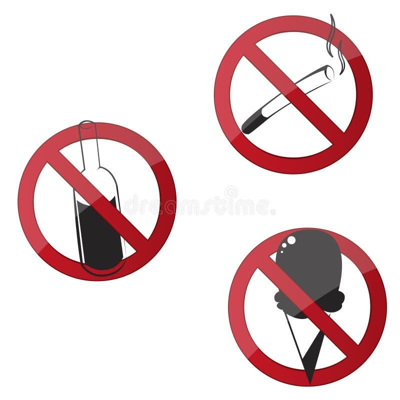 предупреждение знаков стоковые фотографии rf