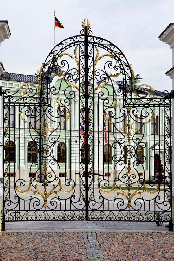 Президентский дворец в Казани Кремле стоковые фото