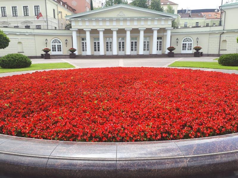 Президентское место в Литве стоковые изображения