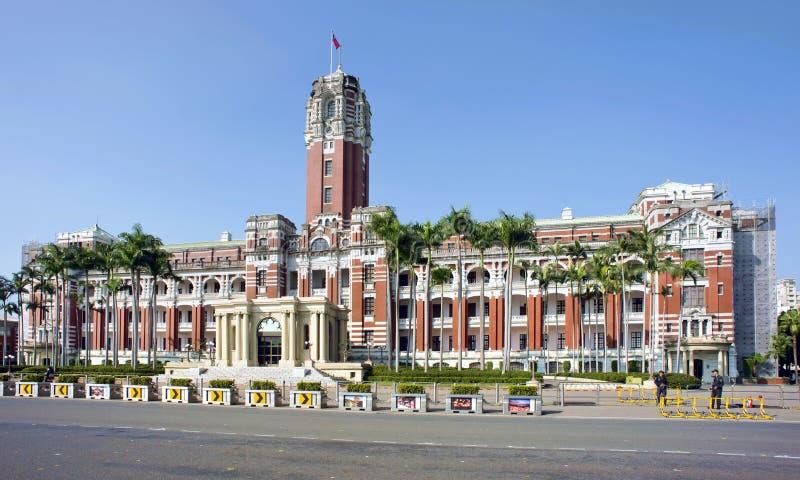 Президентское офисное здание Тайвани стоковые фотографии rf