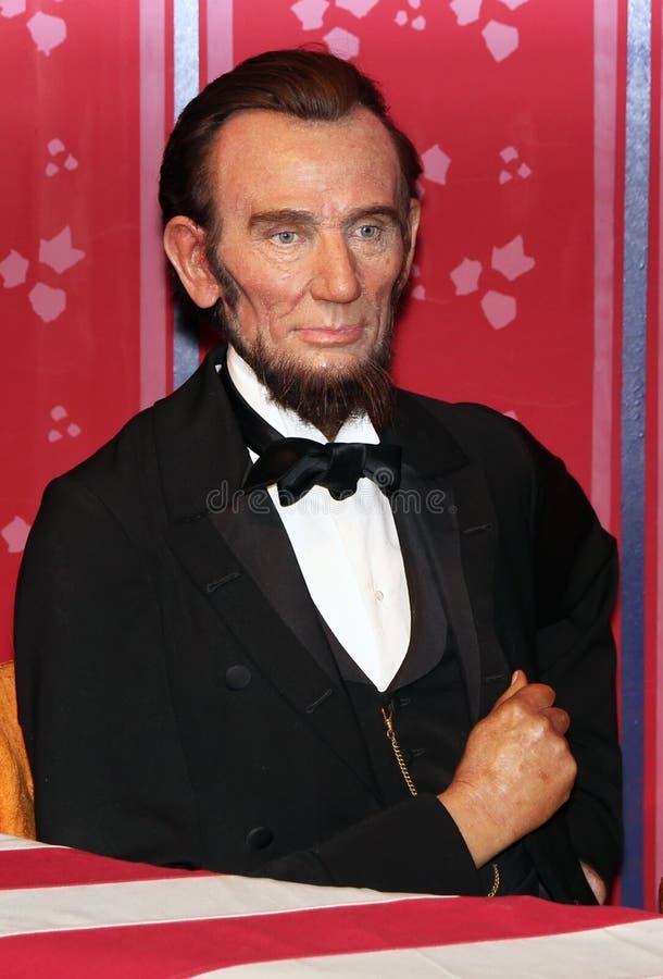 президент Абраюам Линчолн стоковая фотография